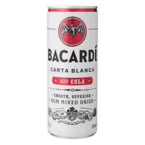 Bacardi Rum & Cola 25cl