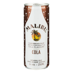 Malibu & Cola 25cl
