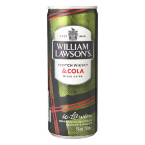 William Lawson's Whiskey & Cola 25cl